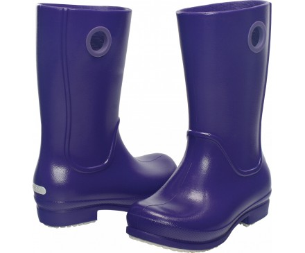 Girls' Wellie Patent Rain Boot