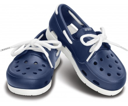 Kids' Beach Line Lace Boat Shoe