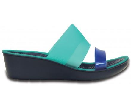 Women's Colorblock Mini Wedge