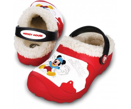 Disney Snow Mickey Mouse Lined Custom Clog