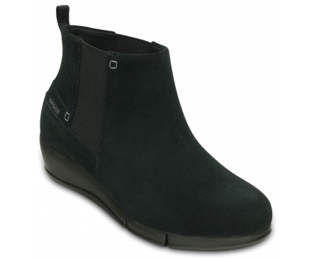 Women's Stretch Sole Wedge Bootie