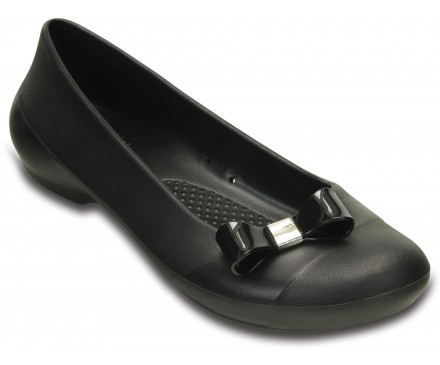 Women's Crocs Gianna Bow Flat