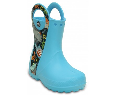 Kids' Handle It Sea Life Rain Boot