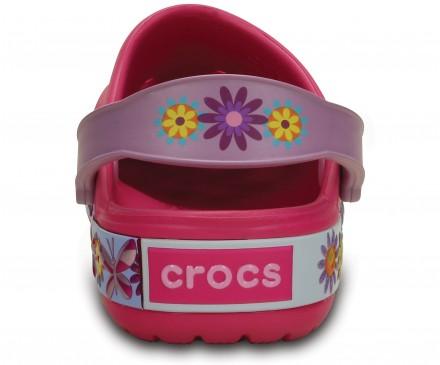 Kids' Crocband™ Butterfly Clog