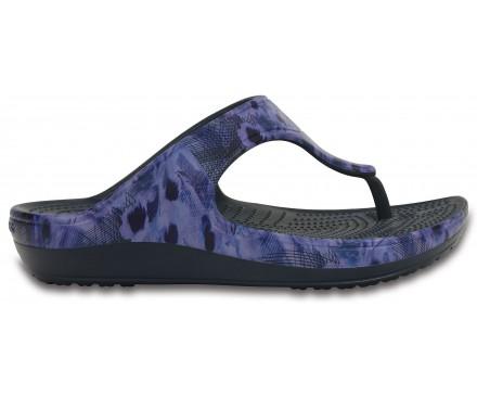 Women's Crocs Sloane Soft Floral Flip