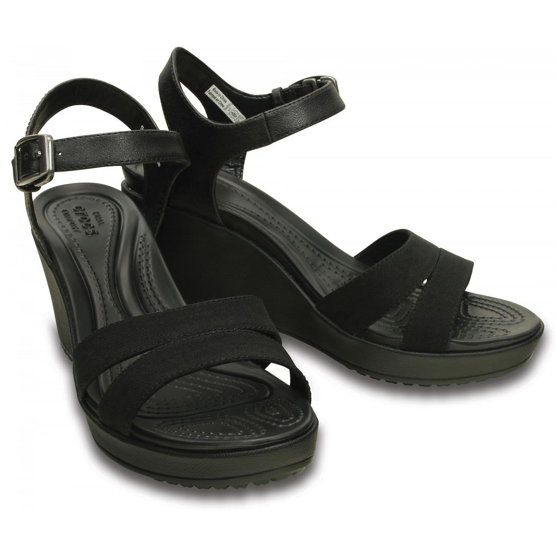 8bb5e45fb6c4 Women's Leigh II Ankle Strap Wedge | Обувь Крокс | Доставка по Киеву ...