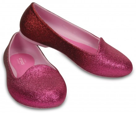 Kids' Crocs Eve Sparkle Flat