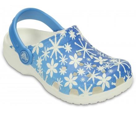 Kids' Classic Snowflake Clog