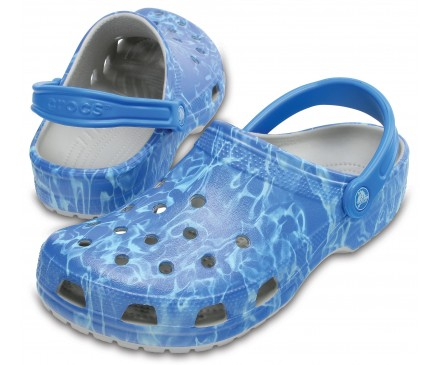Classic Water Graphic Clogs