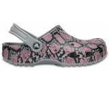 Classic Snakeskin Graphic Clog