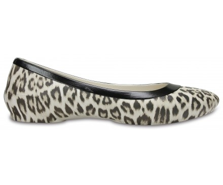 Women's Crocs Lina Graphic Flat