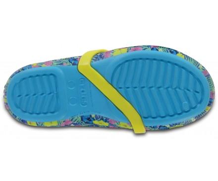 Kids' Crocs Lina Graphic Flats