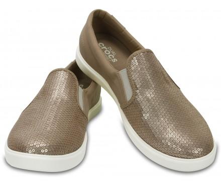 Women's CitiLane Sequin Slip-Ons
