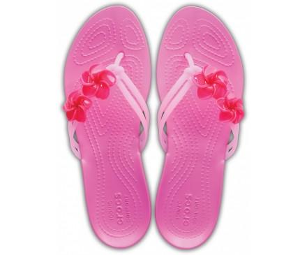 Women's Crocs Isabella Embellished Flips