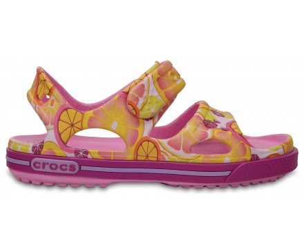 Kids' Crocband™ II Graphic Sandal