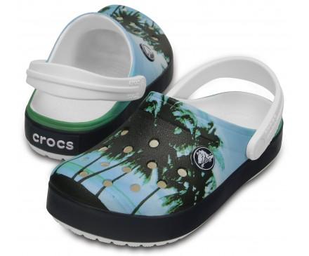 Kids' Crocband™ Graphic Clogs