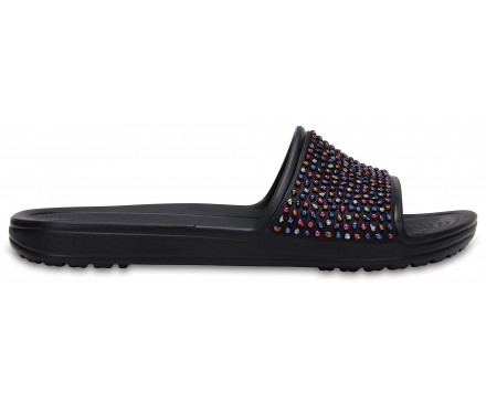 Women's Crocs Sloane Embellished Slides