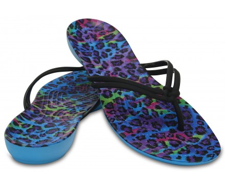 Women's Crocs Isabella Graphic Flip