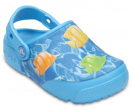 Kids' Crocs FunLab Lights Fish Clogs