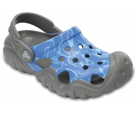 Kids' Swiftwater Graphic Clogs
