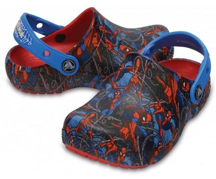 Kids' Crocs Fun Lab Spider-Man™ Clogs