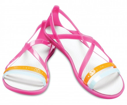 Women's Crocs Isabella Cut-Out Strappy Sandals