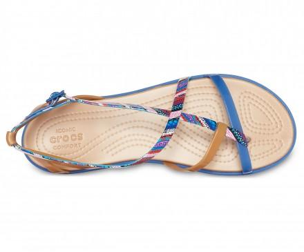 Women's Crocs Isabella Graphic Gladiator Sandals