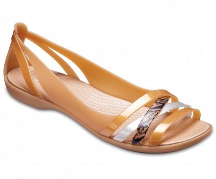 Women's Crocs Isabella Graphic Huarache II Flats