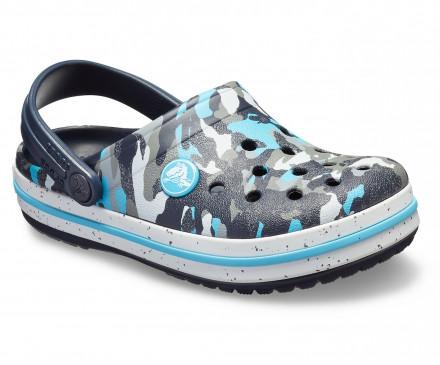 Kids' Crocband™ Camo Spec Clog