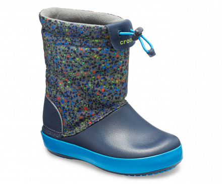 Kids' Crocband™ LodgePoint Graphic Boot