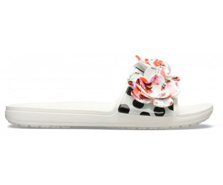 Women's Crocs Sloane Timeless Roses Slide