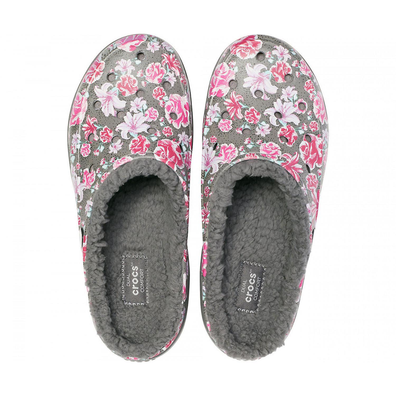 Women's Crocs Freesail Graphic Fuzz Lined Clog | Обувь ...