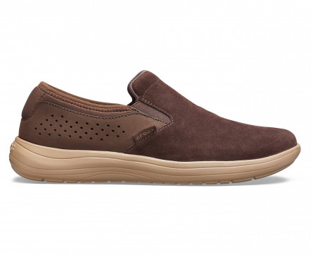 Men's Crocs Reviva™ Suede Slip-On