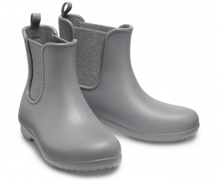 Women's Crocs Freesail Metallic Chelsea Boot