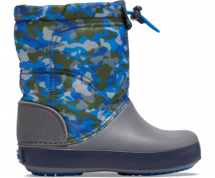 Kids' Crocband™ LodgePoint Graphic Winter Boot