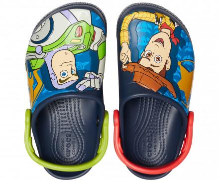 Kids' Crocs Fun Lab Disney and Pixar Buzz & Woody Clog