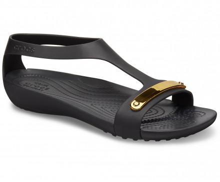 Women's Crocs Serena Metallic Bar Sandal