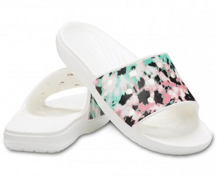 Classic Crocs Tie-Dye Mania Slide
