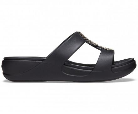 Women's Crocs Monterey Diamante Slip-On Wedge