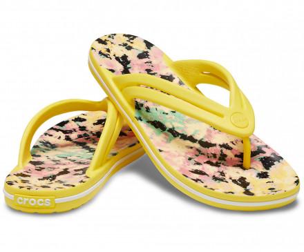 Women's Crocband™ Tie-Dye Mania Flip