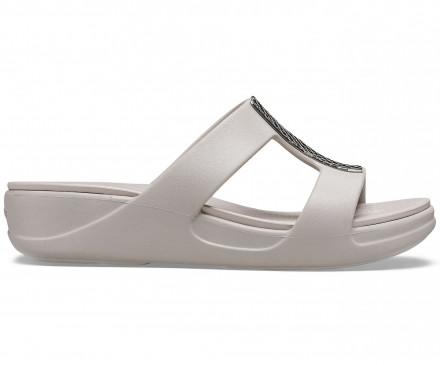 Women's Crocs Monterey Metallic Slip-On Wedge