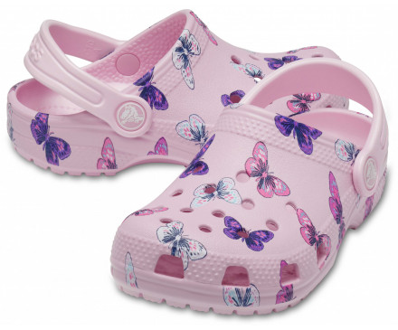 Kids' Classic Butterfly Clog