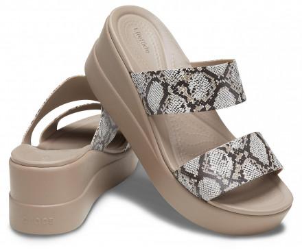 Women's Crocs Brooklyn Mid Wedge