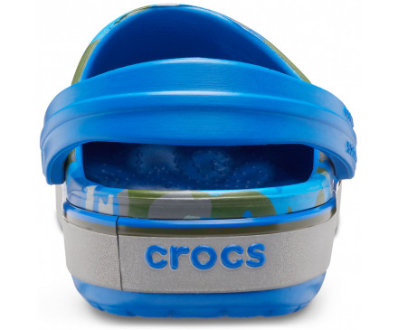 Kids' Crocband™ Camo Reflect Band Clog