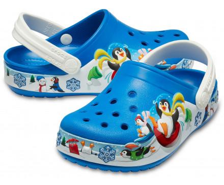 Kids' Crocs Fun Lab Playful Penguin Clog