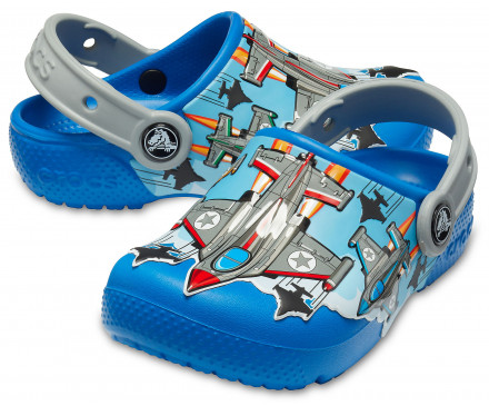 Boys' Crocs Fun Lab Fighter Jets Clog