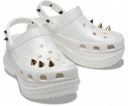 Crocs Women's Classic Bae Glitter Stud Clog