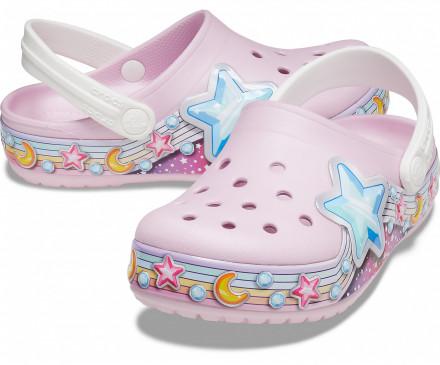 Kids' Crocs Fun Lab Star Band Clog