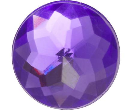 Sparkly Purple Circle