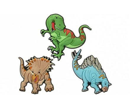 DIN Dinosaurs 3 Pack - Card